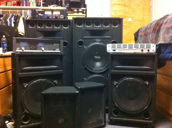 Entire DJ system (Or concert) Ready to GO - $2200 (UNR)