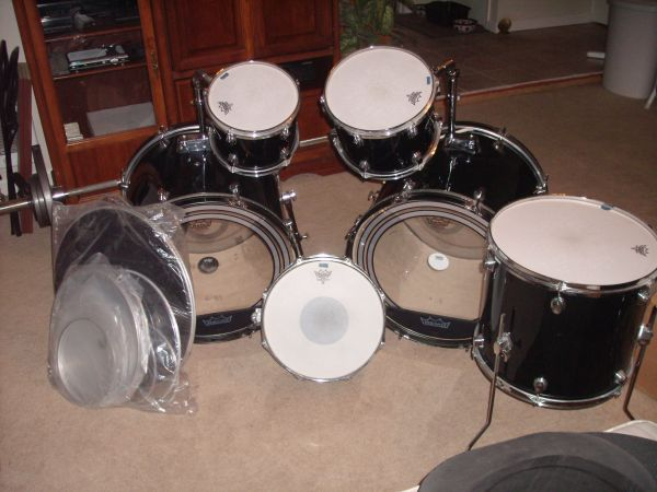 Ddrum double bass drum kit (Reno)