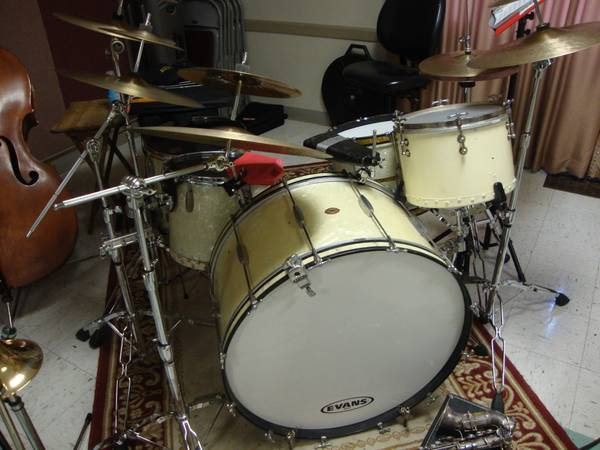 1937 Slingerland Drum Set - $4250 (Lemoore Ca.)