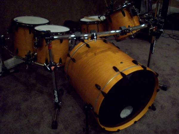 5 Pc Custom drum kit - $1000 (Sparks)