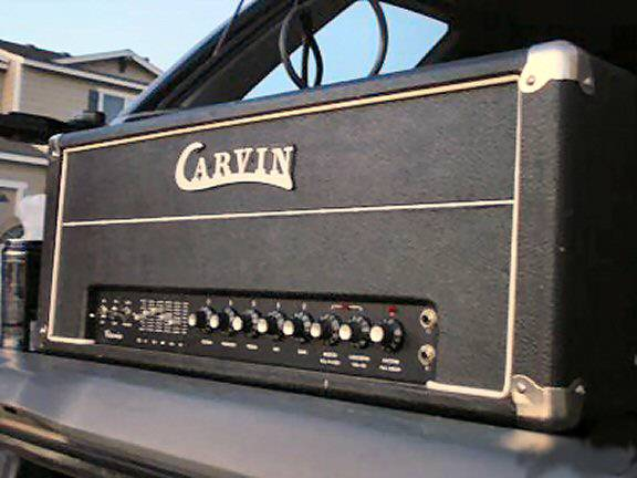 CARVIN X100B 100W ALL TUBE 2 CHANNEL HEAD - $349 (NW Reno)