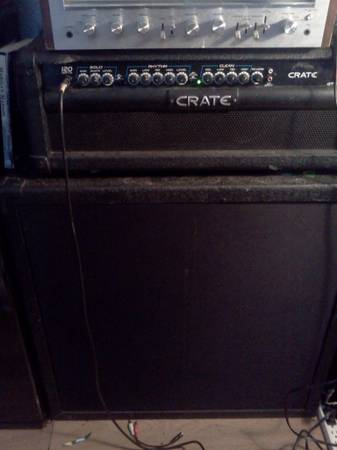 Crate GT1200h half-stack - $225 (carson city)