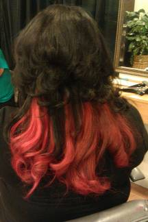 Specializing in Hair Extensions Color (renoA family affair salon)