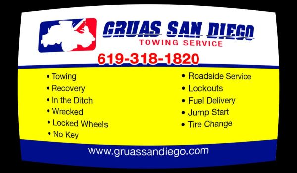 $50 (((TOWING))) WE DONT JUST TOW WE HELP OUR CUSTOMERS (SAN DIEGO TOWING)