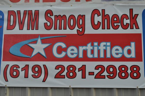 $29.75 FOR STAR SMOG OR REGULAR CHECK (MISSION VALLEY, SD)