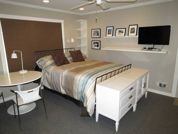 - $1100 1br - 200ftsup2 - New, Furnished Modern Studio for 1, Includ Utilities, NO deposit (Carlsbad)