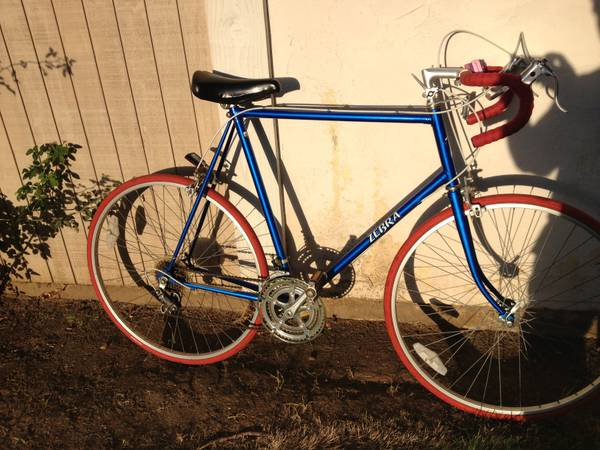 mens road bike 25inch frame. - $170 (escondido)