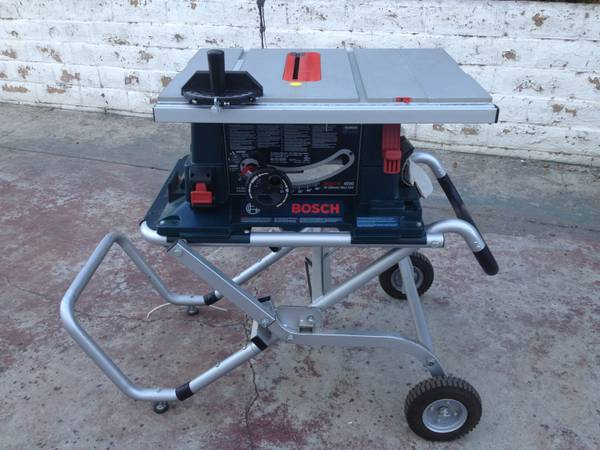 Bosch 4000 Table saw - $400 (SD)
