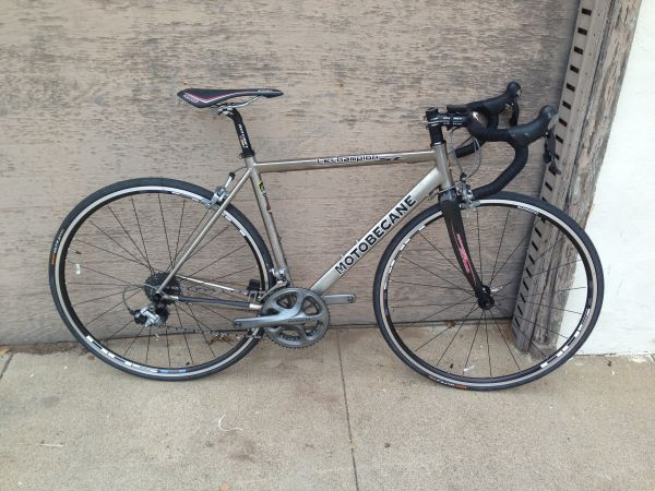 51cm full ultegra 6700 titanium frame bicycle - $1290 (Golden HillDowntown)