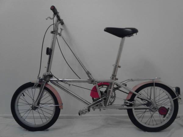 HON CALIFORNIA CONVERTIBLE STAINLESS STEEL FOLDING BICYCLE ( DAHON ) - $680 (coronado)