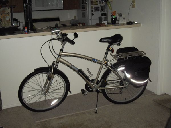 Mens land rider deluxe auto shift comfort bicyle - $500 (SAN DIEGO COUNTY)
