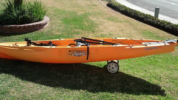 2013 Hobie Outback kayak with mirage drive - $1650 (San Diego)
