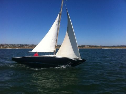 1964 Schock 25 Sailboat - $1000 (Mission bay)