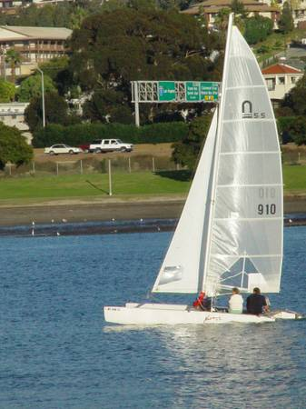 Nacra 5.5sl Catalaran - $3800 (Escondido)