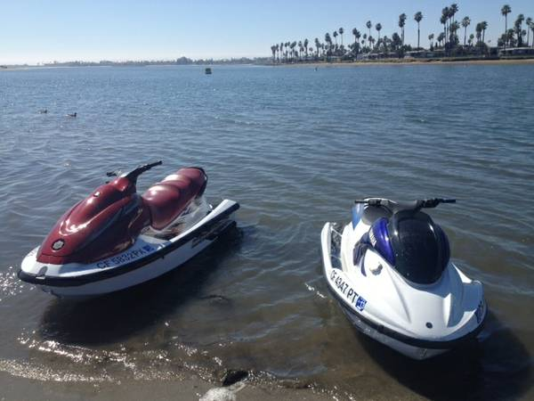 (2)Yamaha Waverunners Pair..Quality - $6600 (Pacific Beach)