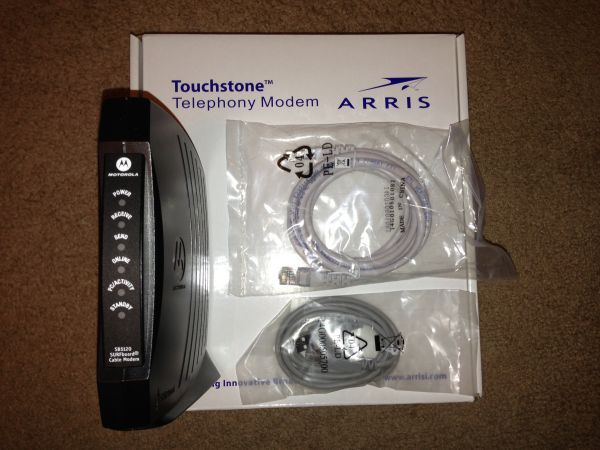 Arris Touchstone Telephony Modem TM502G - $15 (619)