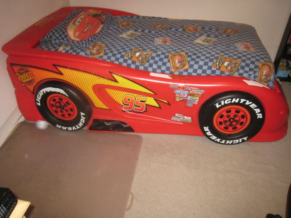 Lightning McQueen Twin Bed - $250 (Clairemont Bay Park)