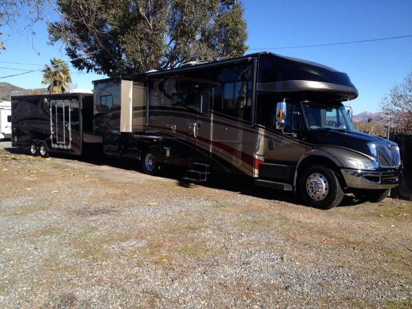 2007 Gulfstream 37 Super Nova matching trailer) - $139000 (San Diego)