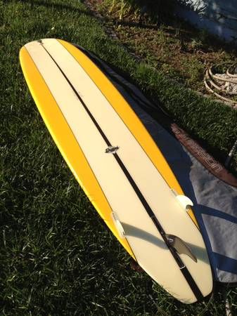 Surfboard - 9 ft. Encinitas Long Board - $315 (Allied GardensDel CerroSDSU)