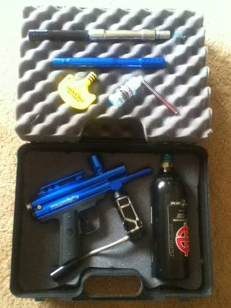 PAINTBALL GUN- PMI Piranha GTI - $110 (Rancho Penasquitos)