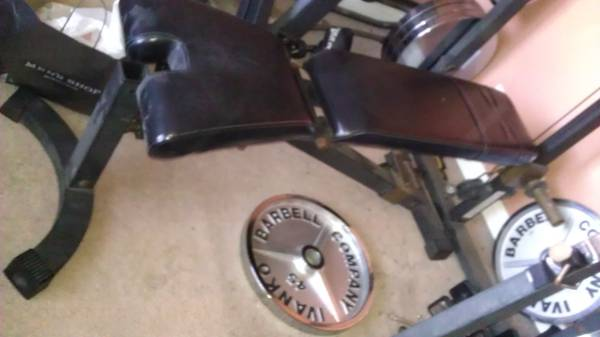 nautilus weight bench - $69 (escondido)