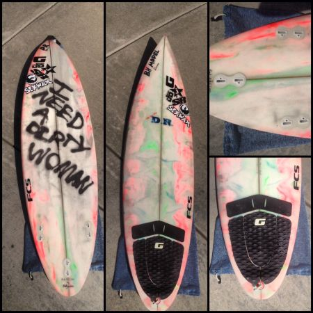 NEW 63 DR pintail Surfboard - $300 (Del Mar)