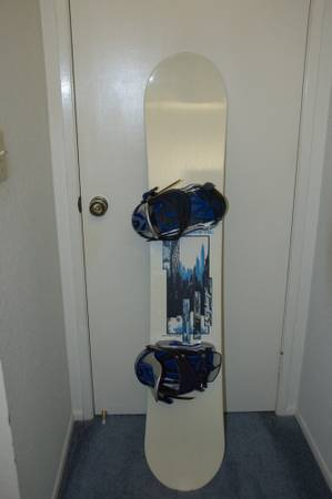 M3 148 Snowboard and Northwave Drake Ltd Edition F60 Bindings - $150 (Carlsbad)