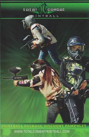 Total Combat Paintball Package DEAL - $20 (Chula Vista)