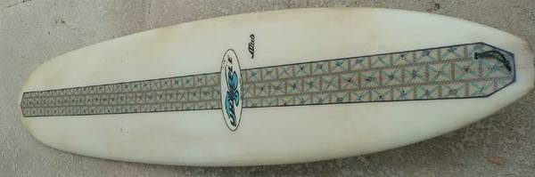 Surfboard 8-0 Ukulele Mini noseriderLongboard 10 log - $75 (South SD)