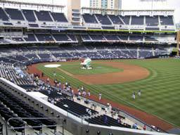 PADS VS. DODGERS 621 TOYOTA TERRACE ROW 1 ISLE SEATS - $65 (MISSION VALLEY)