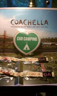 COACHELLA WEEKEND 2, 2 GA ADMISSION TICKETS AND CAR CAMPING COMBO - $900 (UTC )