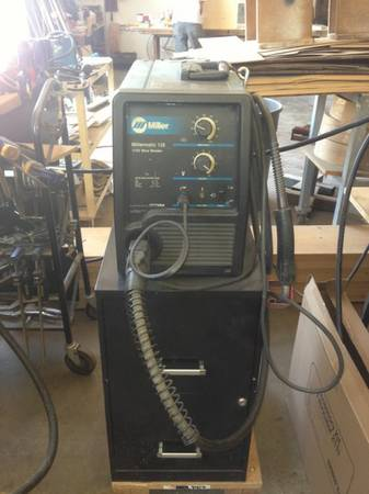 Miller 135 millermatic MIG welder - $500 (Little Italy)