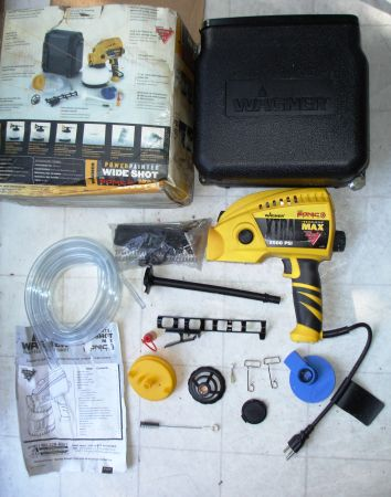 Wagner Power Painter Wide Shot paint Sprayer - $45 (UTC LA JOLLA)
