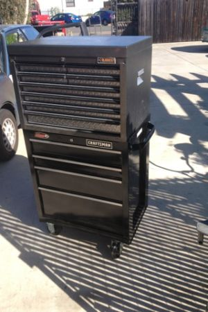 Gladiator Tool Box with black bottom - $320 (South Park)