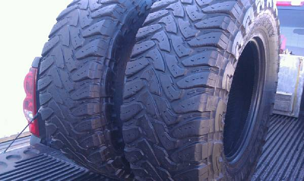 35x12.50R17 Toyo Open Country Mud Terrain Tires - $335 (Cardiff,Ca)