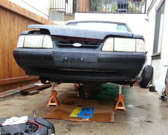 PARTS I am parting out 1990 Ford LX Convertible Fox Body 5.0 Mustang - $1 (Escondido)