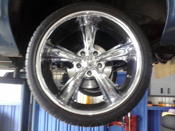 BRAND NEW 20 Chrome DCENTI Rims and Low Pro Tires - $800 (San Clemente)