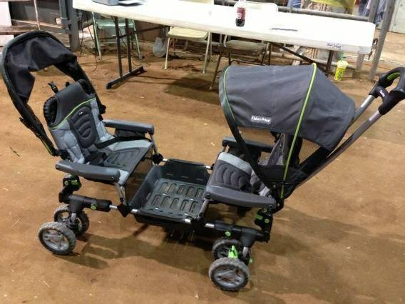 Fisher price wagon wheel stroller - $175 (Paradise hills)