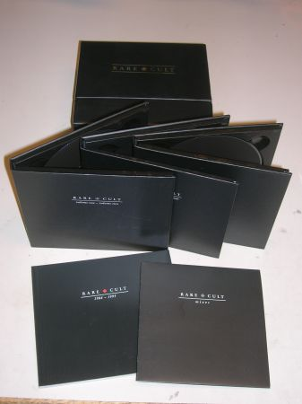 Rare Cult 7 disc boxed set with booklet - $100 (Carlsbad)