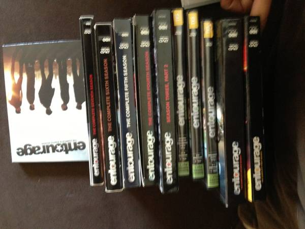 DVD BOX SETS - $15 (one mile from sdsu)