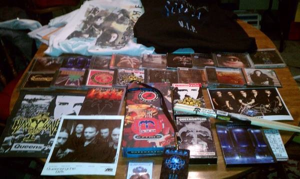 Queensryche collection (a must have) - $260 (San Marcos)