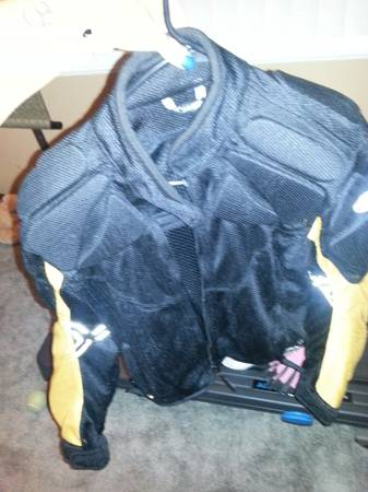 womens motorcycle jackets,  and sm helmet - $70 (national city)