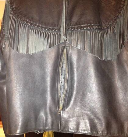 Harley Davidson Womens Rare vintage willie g leather jacket - $500 (lakeside)