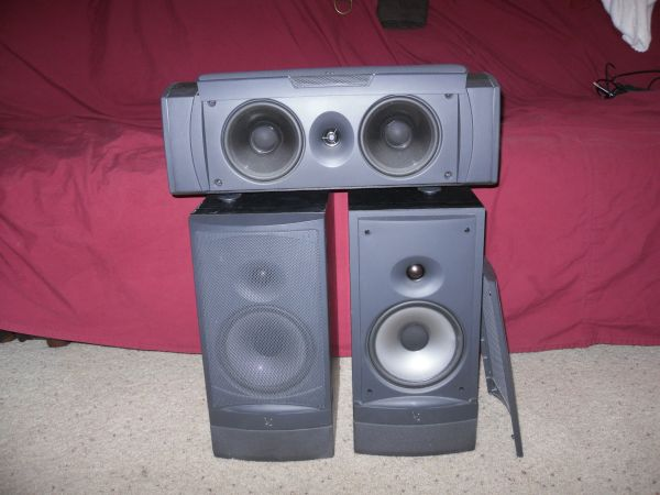 Infinity home theater speakers - $300 (OceansideTemecula)