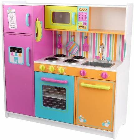 KidKraft Deluxe Big Bright Kitchen Gently Used - - $150 (RANCHO BERNARDO)