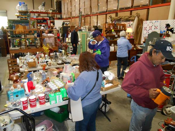 Warehouse filled with Estate Sale items (Oceanside)