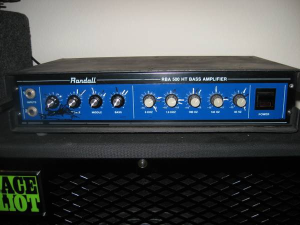 Randall RBA 500 HT Bass Amp Head - $125 (Chula VistaEast lake)