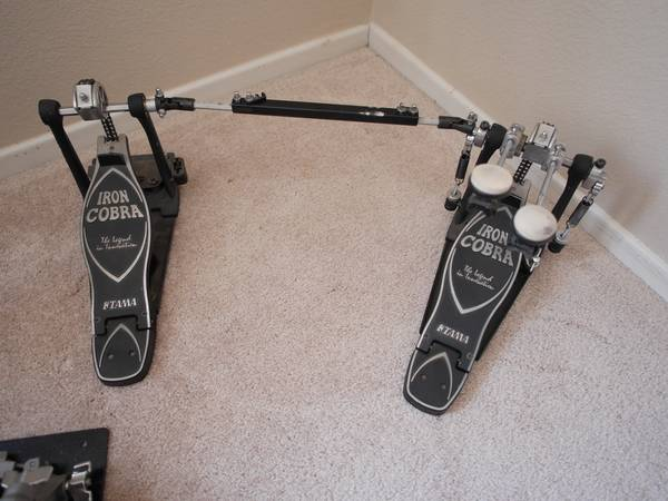 Tama Iron Cobra Double Bass Pedal - $150 (San Marcos)