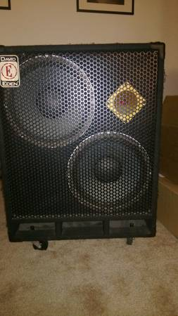 EDEN D212XLT 2 x 12 and Tweeter - $450 (UTC)