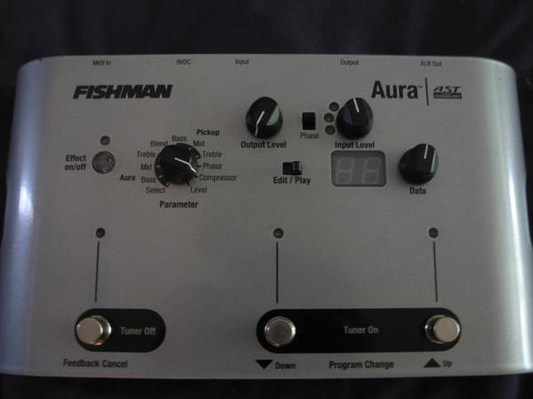 Fishman Aura Acoustic Modeler (Need to Sell this Week) - $180 (Rancho San Diego)